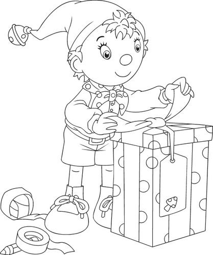 Kolorowanki Noddy Bajki Dla Dzieci